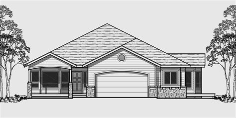 house plans one level ranch house plans american house design ranch style home
