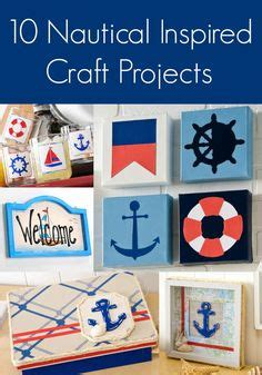 nautical craft projects 1000 ideas about nautical craft on rope