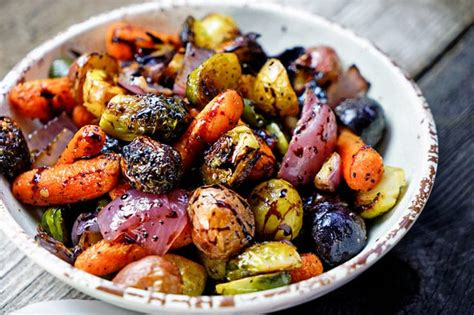 Day Lights Savings Time by Easy Roasted Vegetables With Honey And Balsamic Syrup