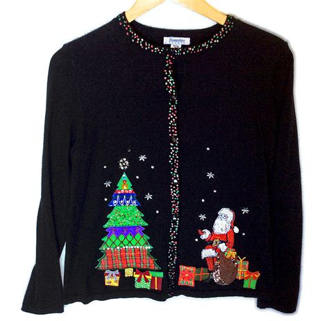 tacky sweater tree santa tacky sweater