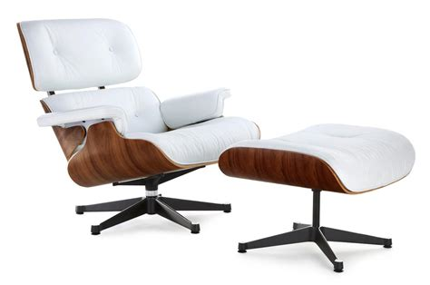 eames chair white eames lounge chair replica white with a black base