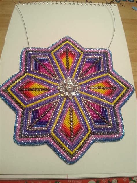 beaded rosettes patterns 17 best images about medallions on beading