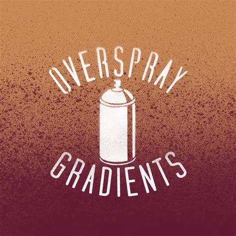 spray paint brush illustrator overspray gradients thevectorlab