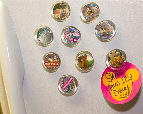 magnets for craft projects show your diy disney side disney parks guide map magnets