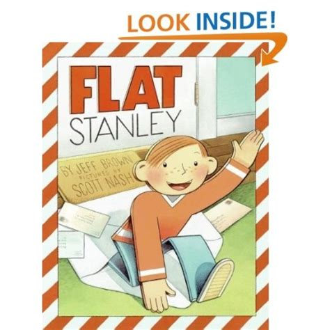 flat stanley picture book flat stanley picture book edition jeff brown