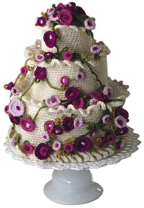 knitted wedding cake wedding knit and crochet wedding cakes free patterns