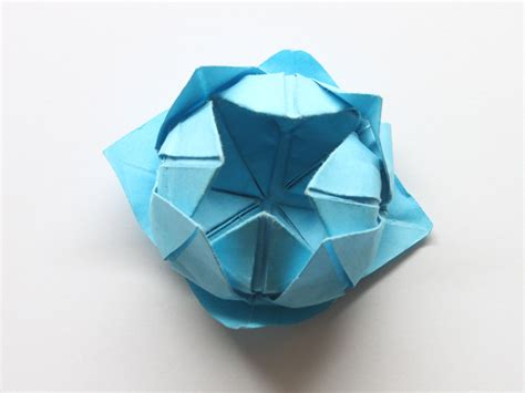origami lotus how to make a simple origami lotus flower 14 steps