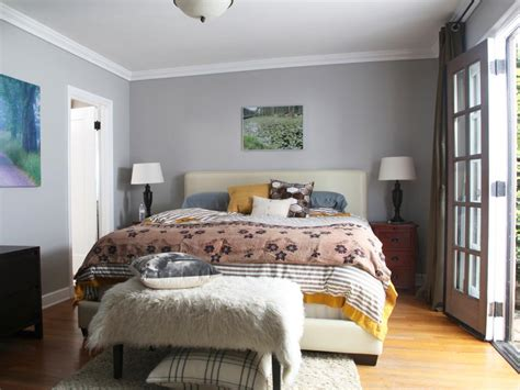 gray bedroom designs how to apply stikwood paneling hgtv