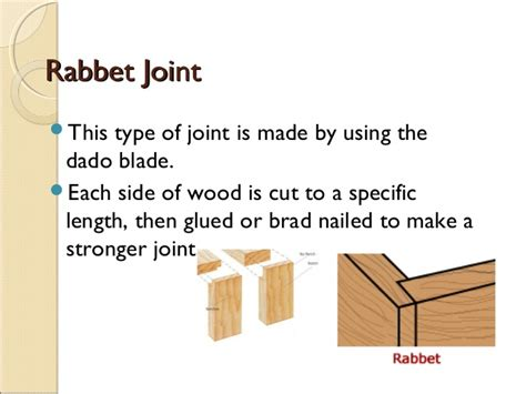 widening joints woodwork types of wood joints