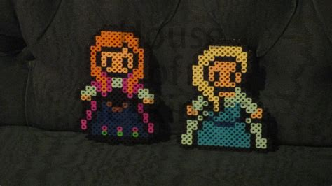 perler pictures time lapse elsa in perler house of geekiness