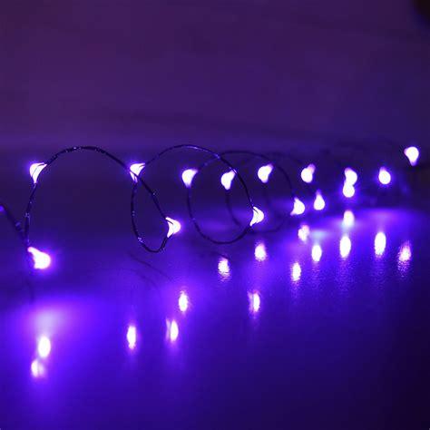 string mini lights purple led mini battery operated string lights