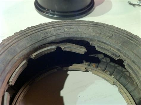 tire bead damage repair ripping rear tire rclargescale