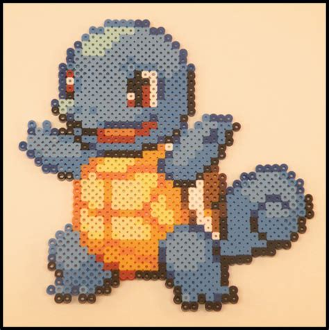 perler bead color palette squirtle perler bead sprite by kantocrafts on