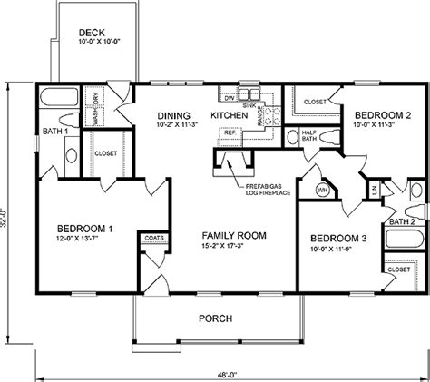 Multi Family Home Plans Duplex house plan 45272 at familyhomeplans com