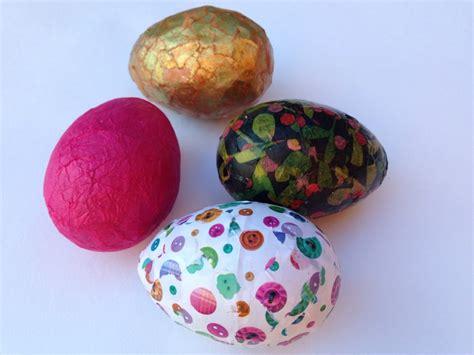 decoupage easter eggs tissue paper decoupage egg patterned tissue paper easter egg