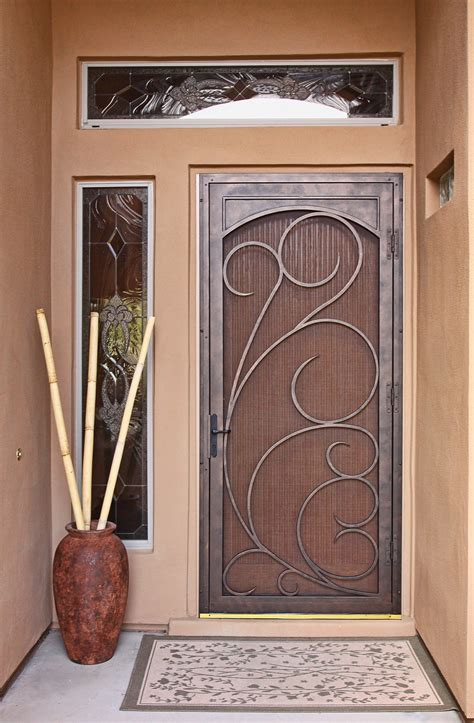 home security front door unique home designs security doors homesfeed