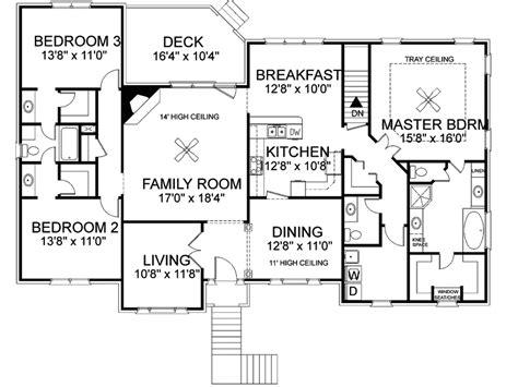 bi level home plans bi level ranch home plans home deco plans
