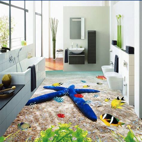 3d bathroom flooring 3d bathroom ceramic printed floor tiles modern living room