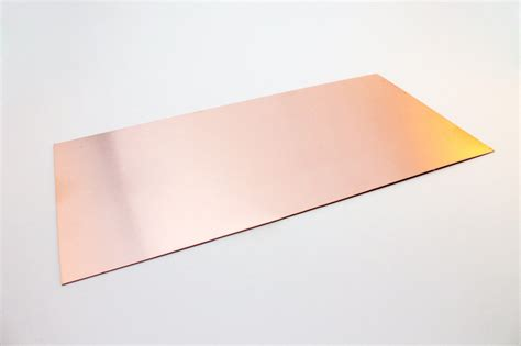 copper sheets for jewelry copper sheet thick 24 0 51mm 6 quot x 12 quot jewelry