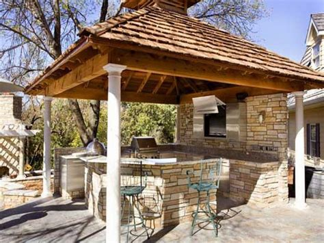 covered outdoor kitchen designs top 15 outdoor kitchen designs and their costs 24h site