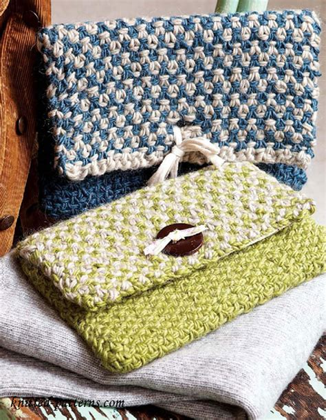 free knitting patterns for bags clutch bag knitting pattern free