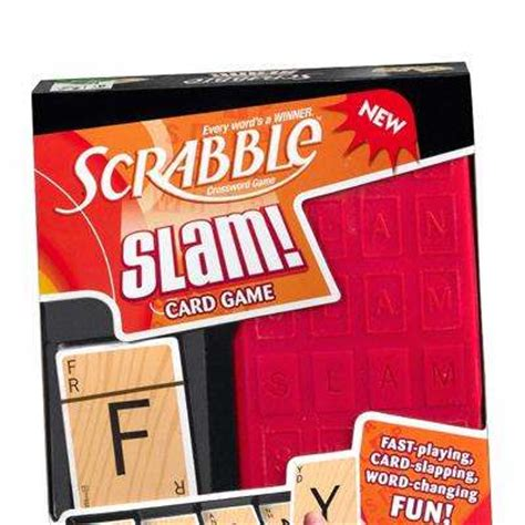 how to play scrabble slam fast paced card scrabble slam