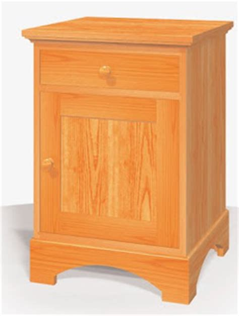 free nightstand woodworking plans stand free woodworking project plans