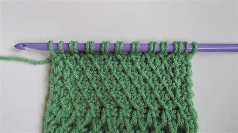 tunisian crochet knit stitch tunisian slanted fabric stitch tunisian crochet stitches