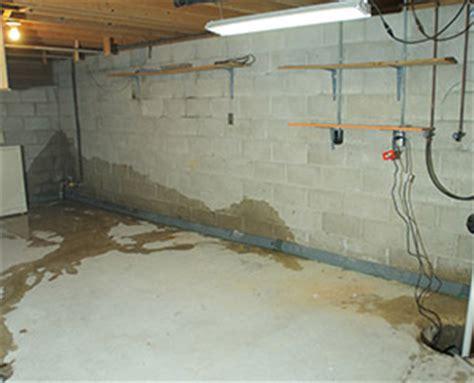mid atlantic basement waterproofing water leaking in cove joints