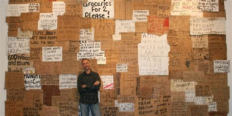This Artist Has Spent $7,000 On Homeless People's