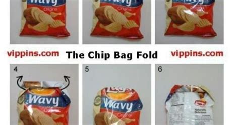 crisp packet origami crisp packet folding hacks