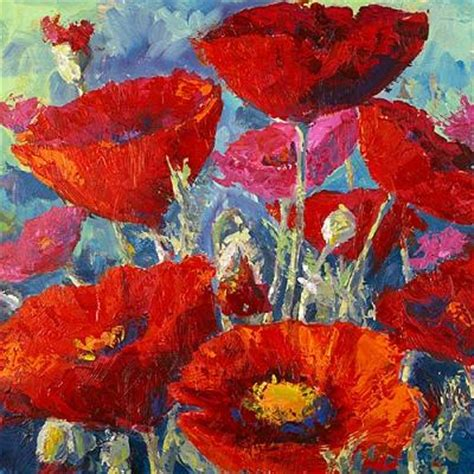 acrylic painting pictures acrylic flower paintings by w bowman