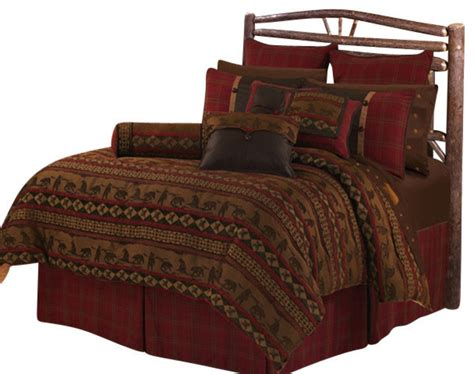 rustic comforters sets lodge comforter set rustic comforters and