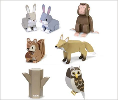 animal paper crafts animal paper crafts templates