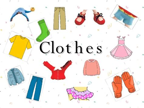 for clothes clothes