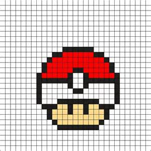 pokeball perler bead pattern pokeball perler bead pattern kandi