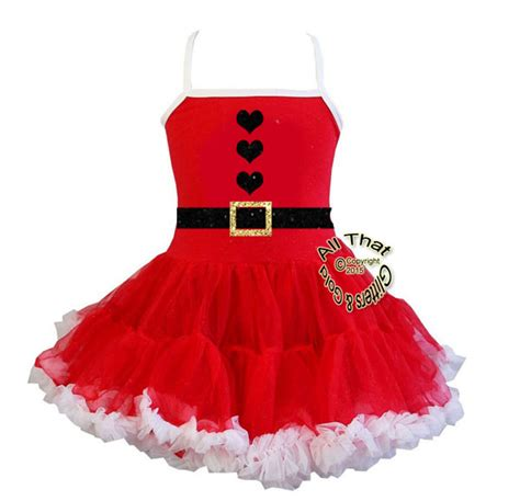 santa dresses for clothing tutus baby