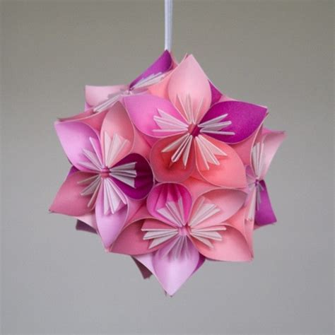 origami flower balls 1000 images about kusudama flowers on origami