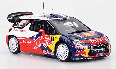 Citroen Ds3 Wrc by Citroen Ds3 Wrc 2012 Miniature No 1 Bull S Loeb D