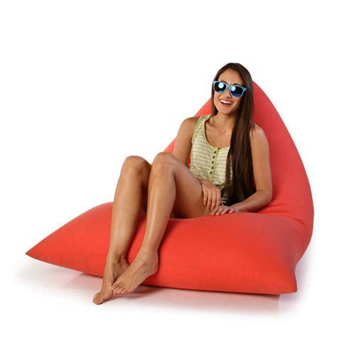 indoor outdoor bean bag chairs jaxx twist indoor outdoor beanbag chair the green