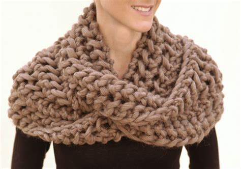 knitted chunky infinity scarf pattern infinity scarf knitting patterns a knitting