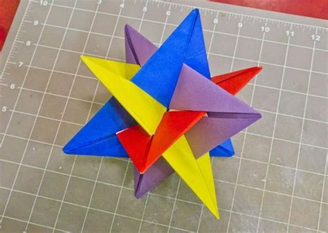 origami math project math craft monday community submissions plus how to make