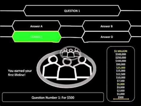 who wants to be a millionaire ppt v9 youtube