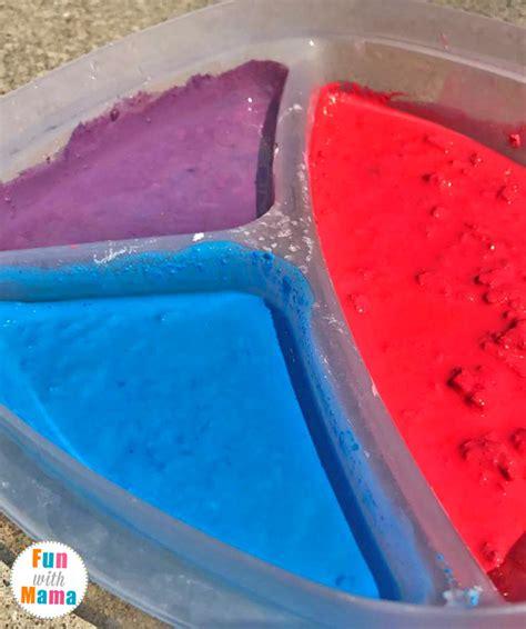 sidewalk chalk paint diy diy sidewalk chalk paint recipe with