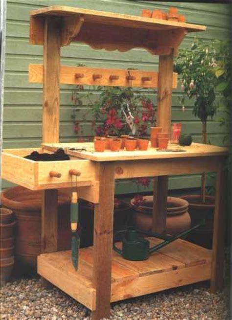 Gardening Workbench Pdf Diy Garden Greenhouse Potting Bench Plans