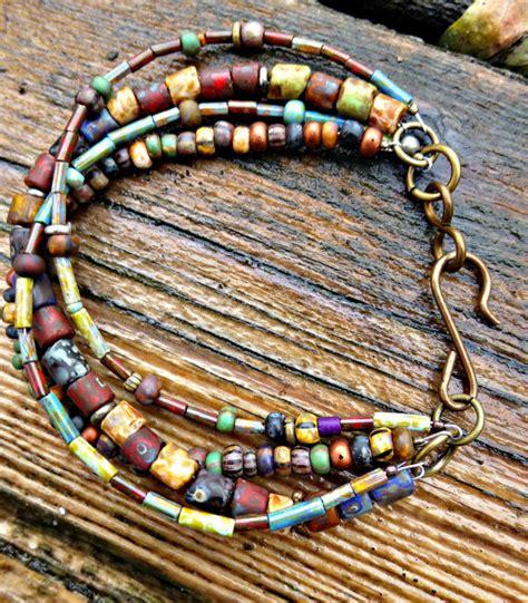 how to make hippie jewelry customization multi strand bohemian hippie bracelet