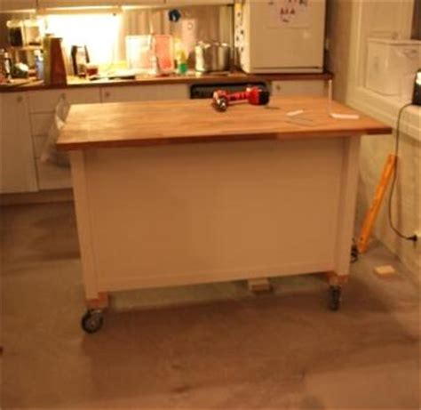 Kitchen Island Cart With Seating kitchen island on wheels ikea hackers