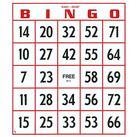 how to make bingo cards with numbers envisioneveryday