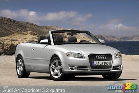 2008 Audi A4 Convertible by Auto123 New Cars Used Cars Auto Shows Car Reviews