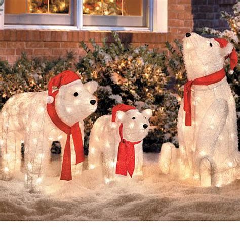 lighted polar lighted polar decorations 28 images shop living